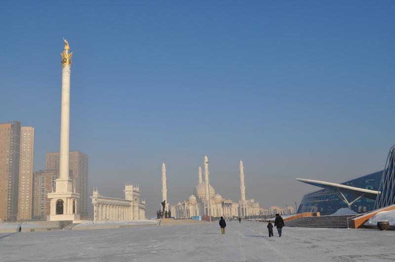 Площадь Независимости, Астана