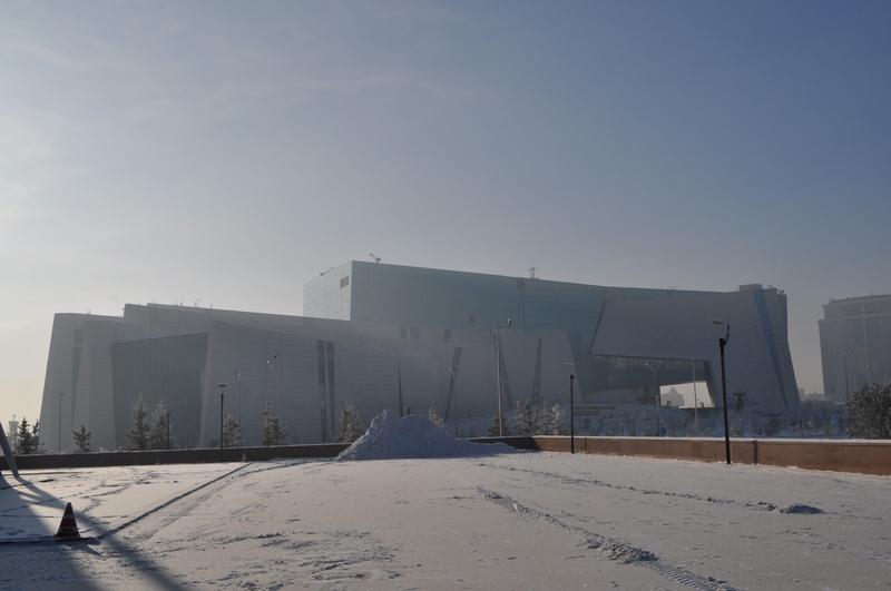 Национальный музей республики Казахстан в Астане