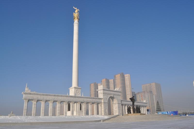 Монумент «Казак Ели», Астана