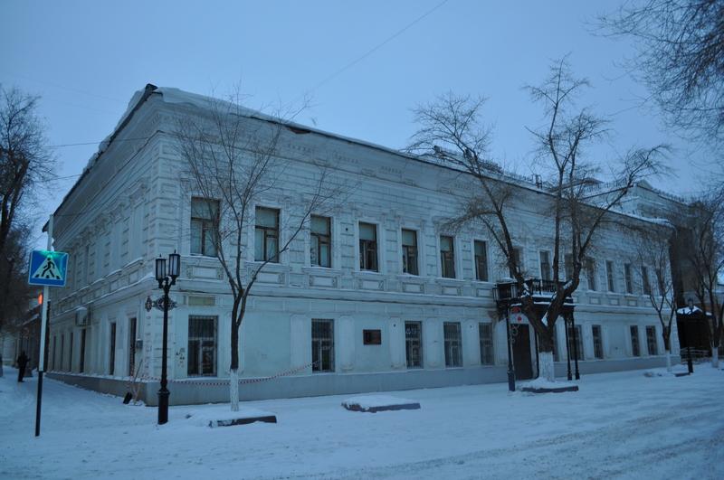 Библиотека им. Н. К. Крупской, Оренбург