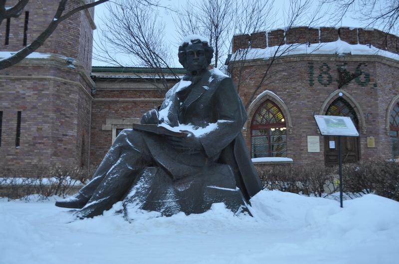 Памятник А. С. Пушкину, Оренбург