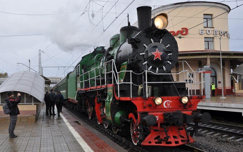 Паровоз СУ250-74 в Бологое