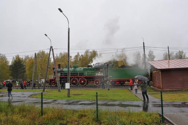 Паровоз СУ в Куженкино