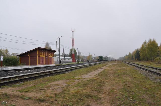 Станция Куженкино