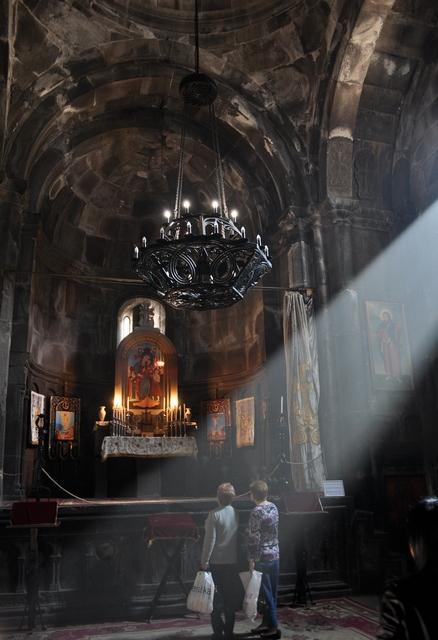 Монастырь Гегард, церковь Катогике