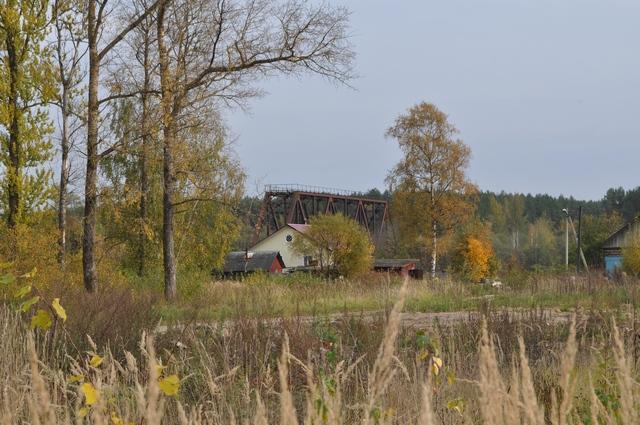 Жарковский, мост через Межу