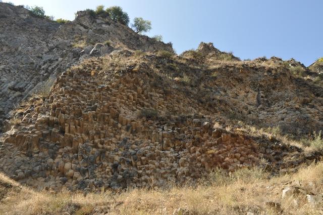 Колоновидные базальты, Симфония камней, Каменный орган