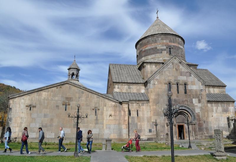 Церковь Святого Григория Просветителя, монастырь Кечарис, Цахкадзор, Армения