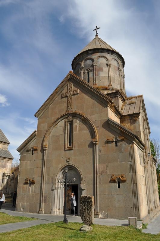 Церковь Сурб Ншан, монастырь Кечарис, Цахкадзор, Армения