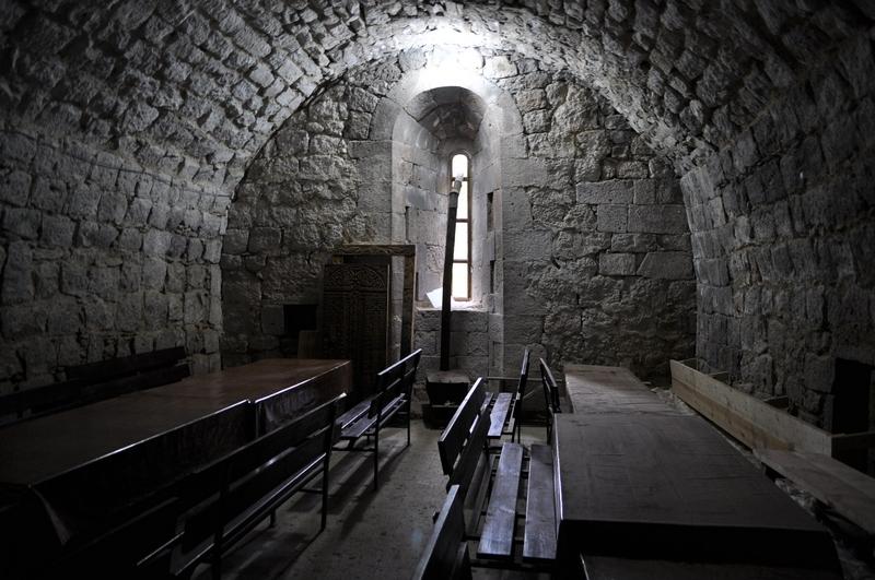 Трапезная в монастыре Татев, Армения
