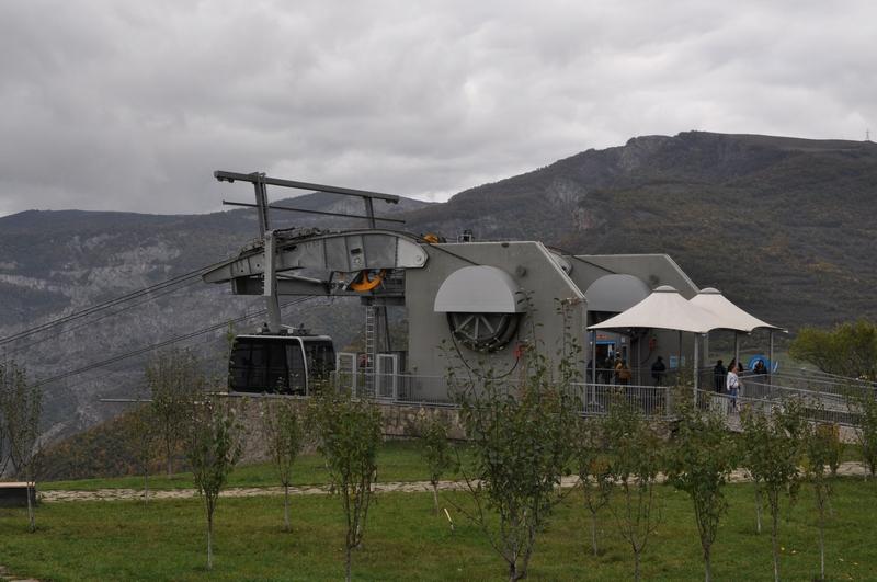Станция «Татев» канатной дороги «Крылья Татева», Армения