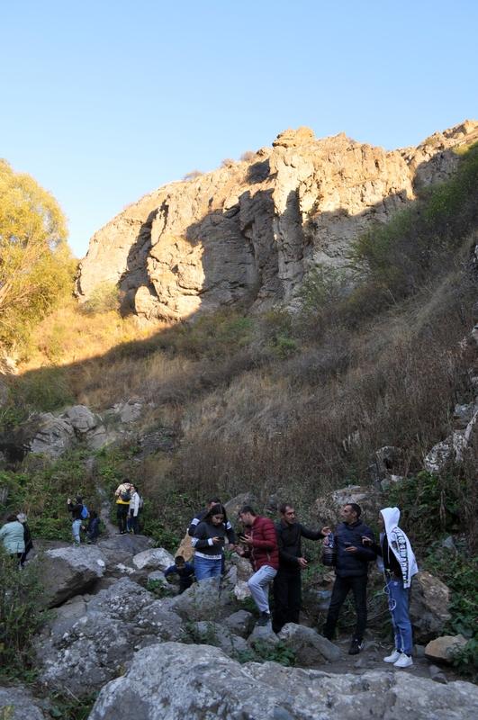 Шакинский водопад, Армения