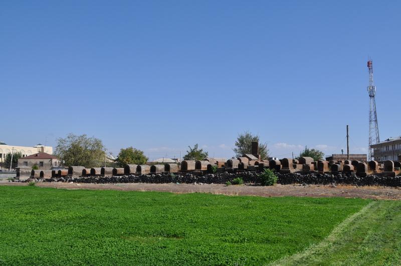 Кладбище, монастырь Эчмиадзин, Вагаршапат, Армения