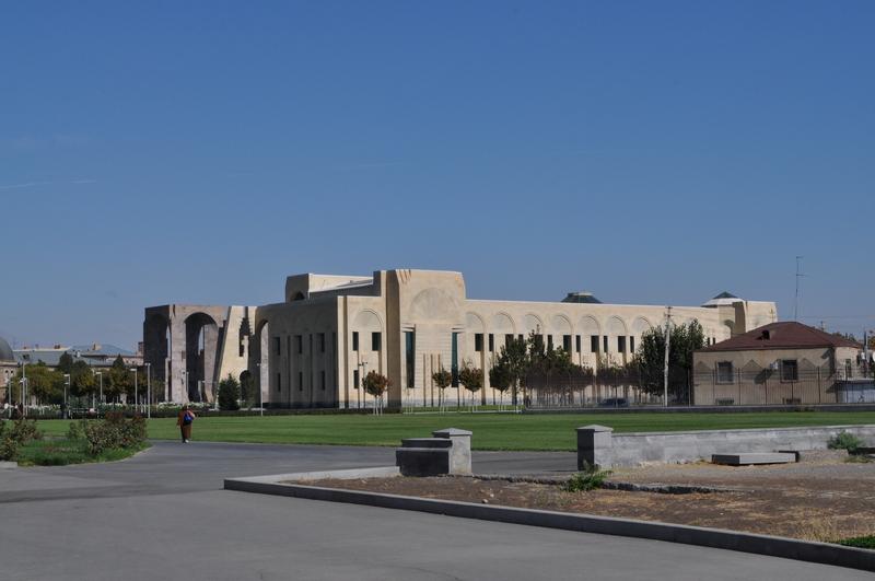 Библиотека Манукян, монастырь Эчмиадзин, Вагаршапат, Армения