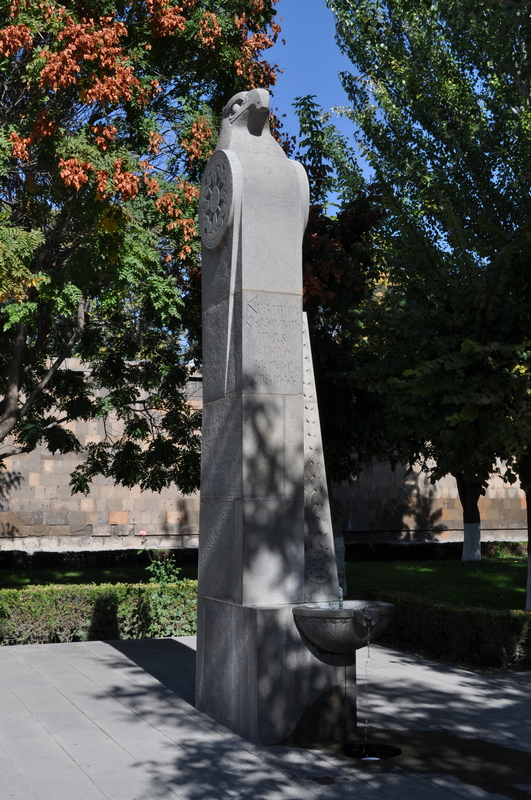 Памятник Католикосу Всех Армян Мкртичу Хримяну, монастырь Эчмиадзин, Вагаршапат, Армения