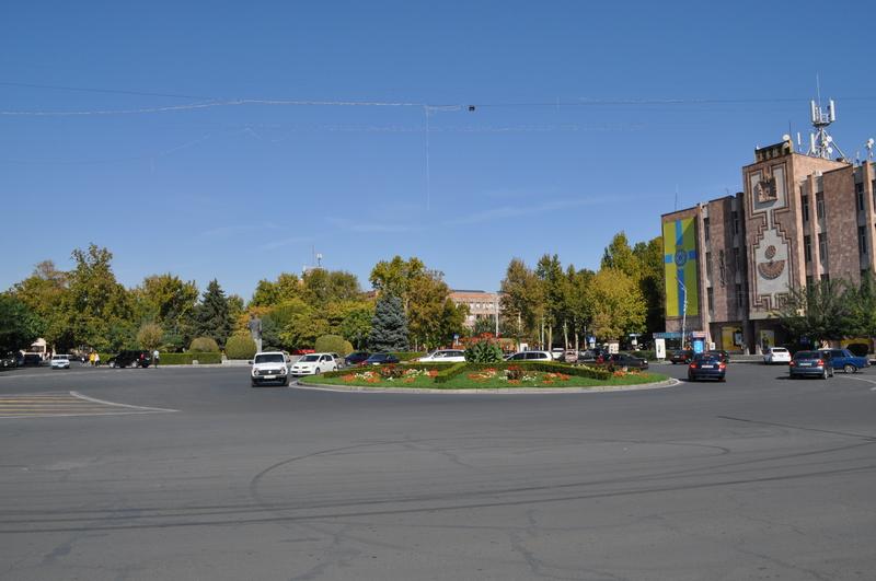 Площадь Комитаса, Вагаршапат, Армения