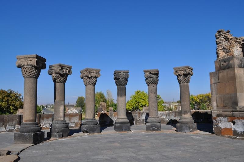 Звартноц, Армения
