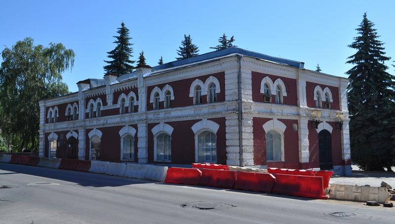 Художественный отдел краеведческого музея Ельца