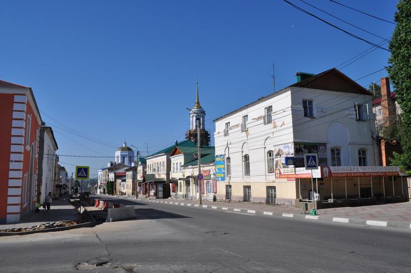 Советская улица. Елец