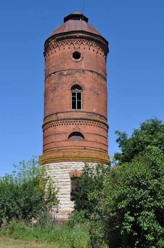 Водонапорная башня на ст. Талица-Елецкая