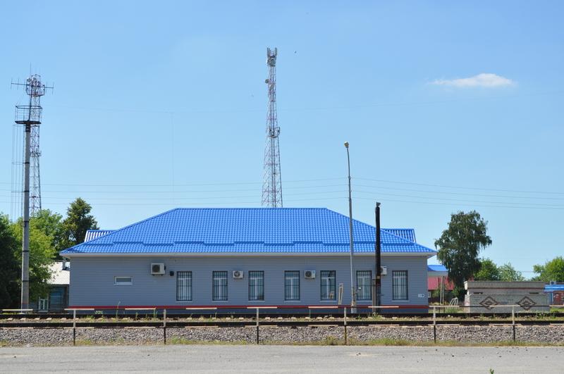Вокзал станции Лутошкино ЮВЖД