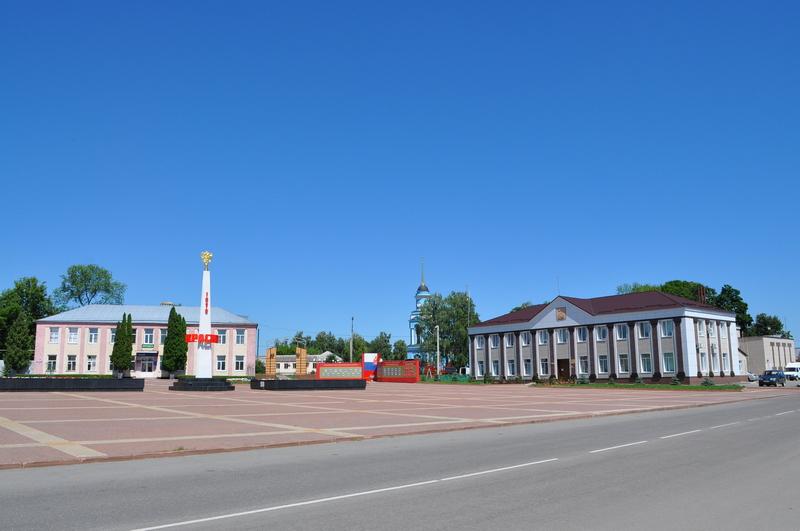 Красная площадь в Красном