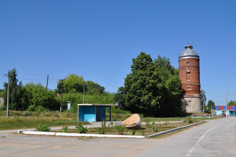 Водонапорная башня на ст. Рождество