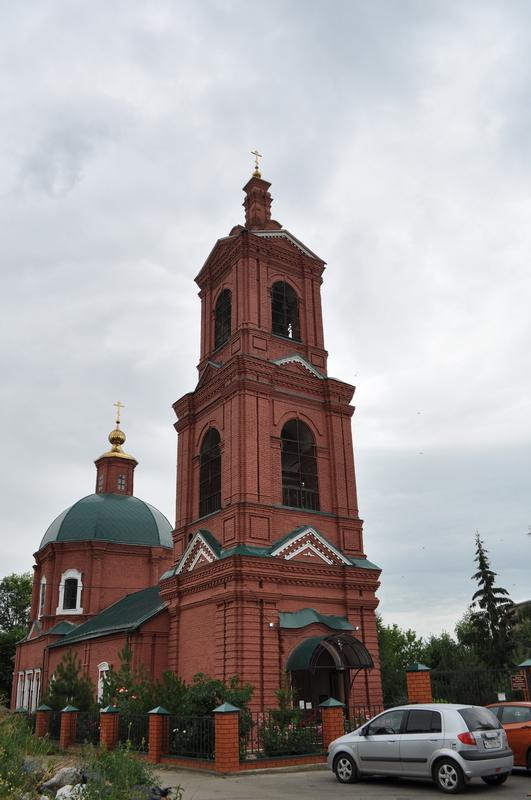 Собор Казанской Иконы Божией Матери (Старо-Казанский), Лебедянь