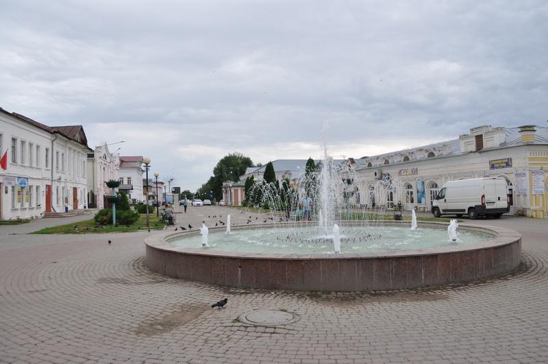 Улица Мира в Лебедяни