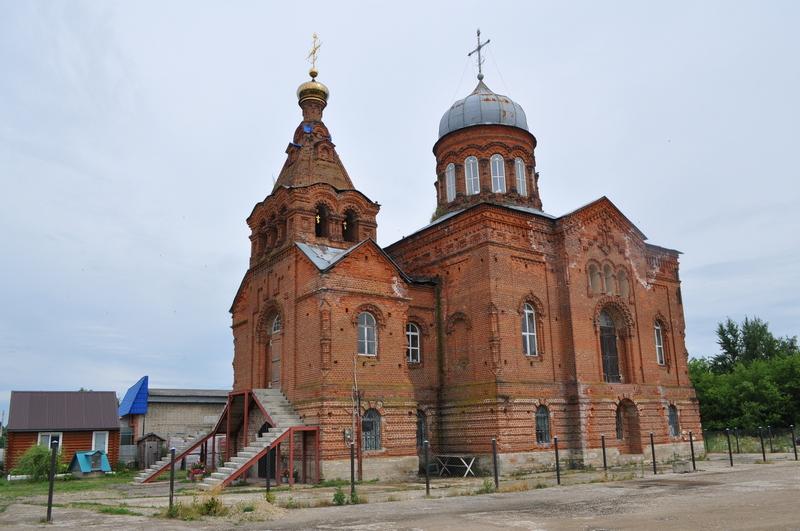 Церковь Рождества Христова, Данков