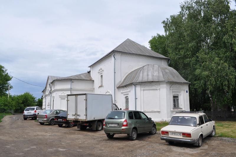 Церковь великомученика Дмитрия Солунского, краеведческий музей, Данков