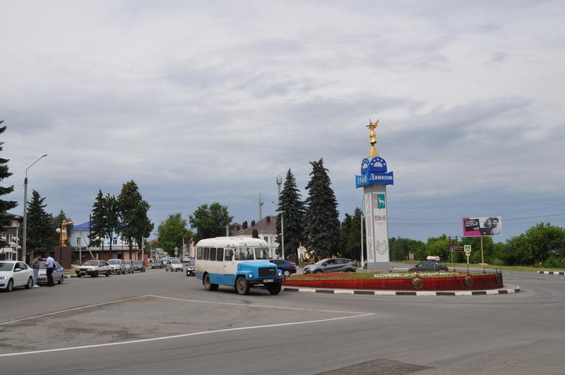 Площадь Ленина, Данков