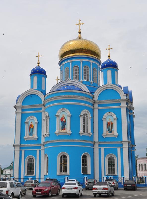Собор Тихвинской иконы Божией Матери, Данков
