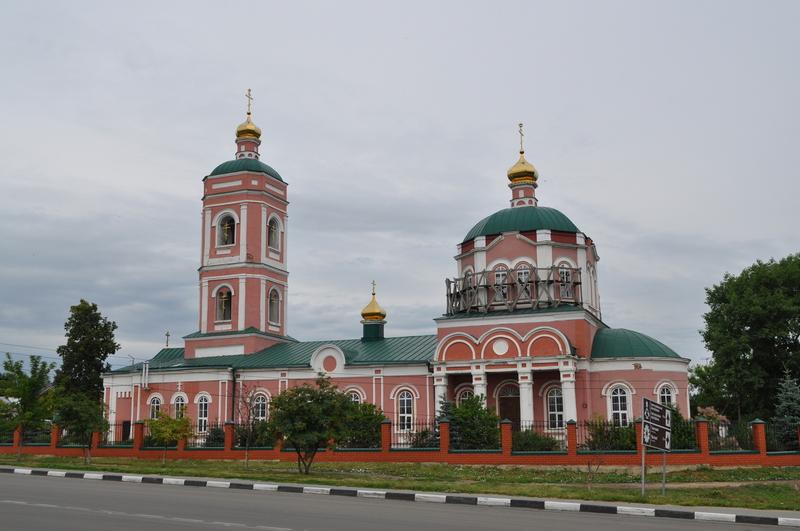 Георгиевская церковь, Данков