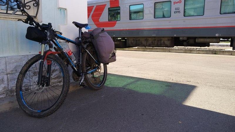 Собранный велосипед в Ельце