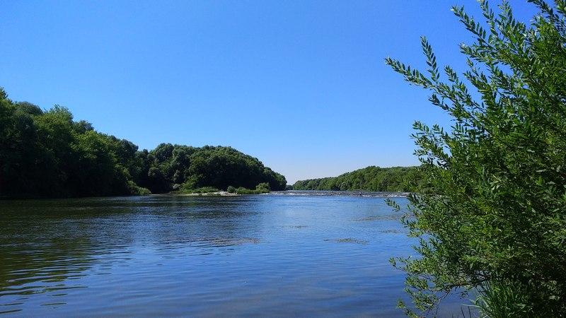 Река Сосна в Талице