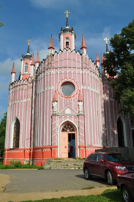 Храм Преображения Господня в Красном