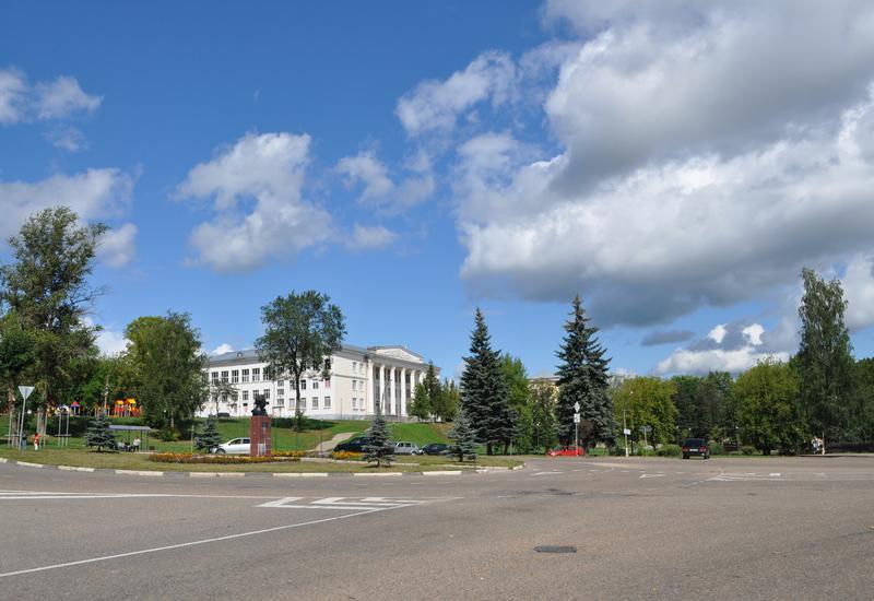 Площадь Пушкина, Дом культуры в Торжке