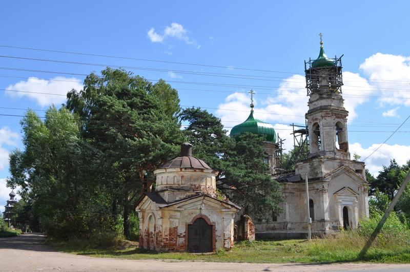 Вознесенская церковь с часовней, Торжок