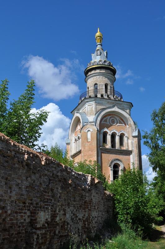 Свечная башня Борисоглебского монастыря, Торжок