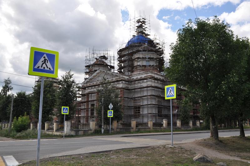 Спасо-Преображенский собор в Торжке