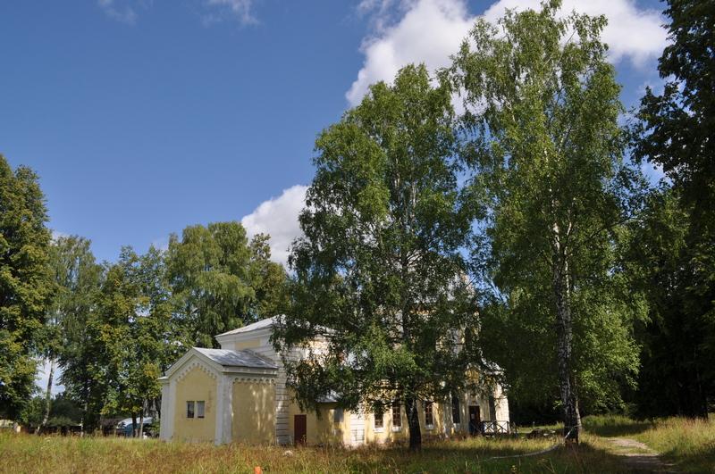 Храм Знамения Божией Матери, Раёк