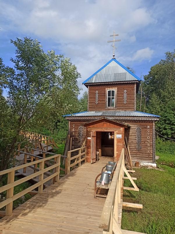 Святой источник Иоанна Предтечи в селе Маслово