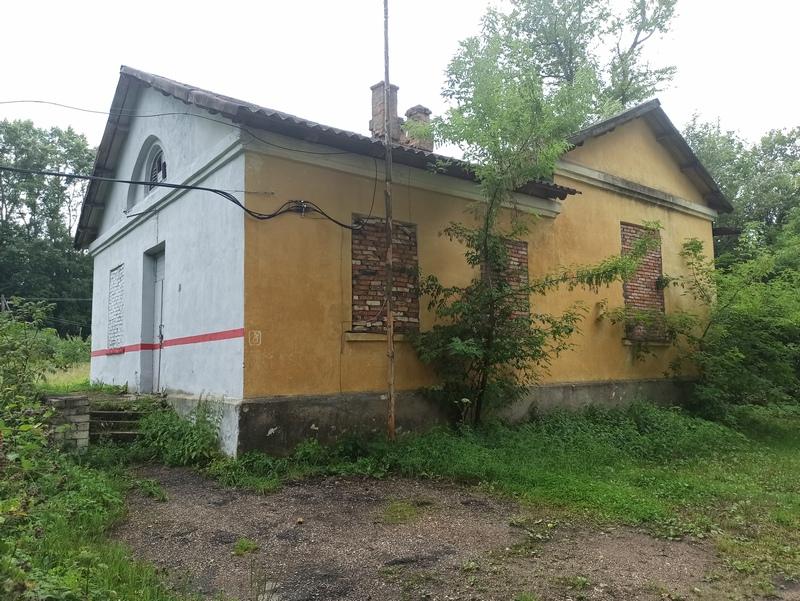 Станция Щербово, вокзал