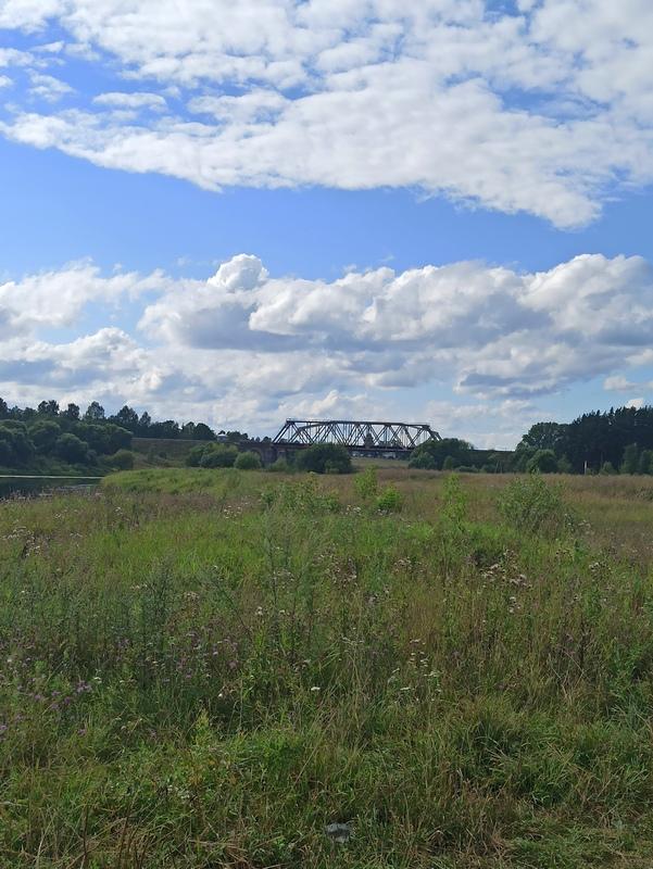 Железнодорожные мосты через Тверцу у Торжка