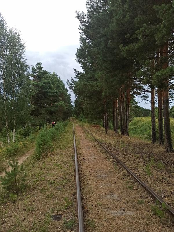 Подъездной путь к ТЭЦ-3 в Твери